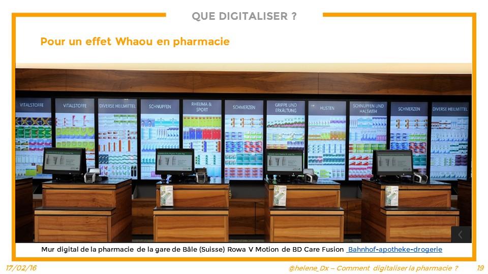 Les enjeux du digital pour l'officine - La pharmacie digitale