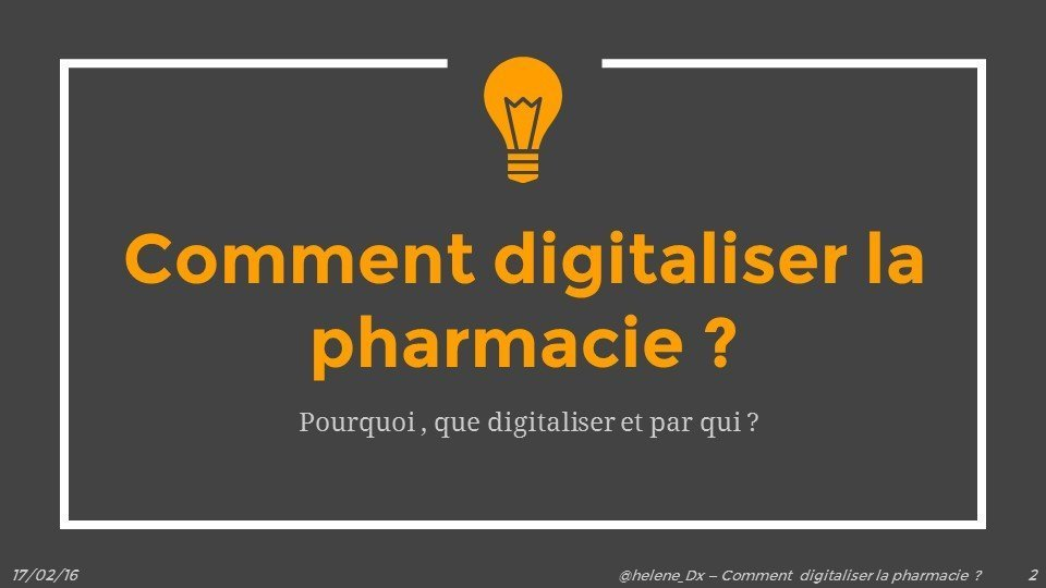 Comment digitaliser la pharmacie