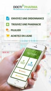 Appli mobile Doctipharma