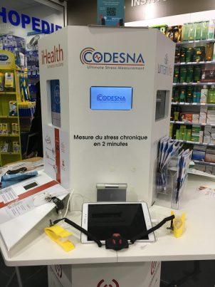 Borne objet connecté Pharmacie Codesna Ihealth Umanlife