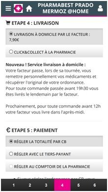 Capture d'écran de l'Application Pharmabest PradoMermoz@home Source : GooglePlay
