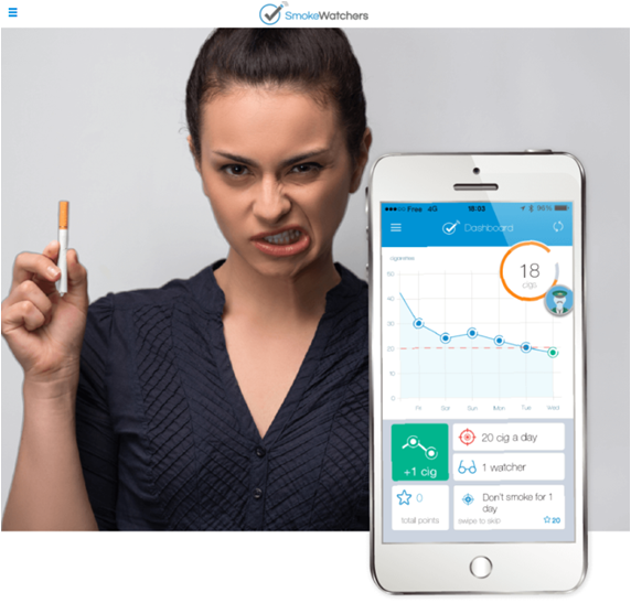SmokeWatcher, le pharmacien coach