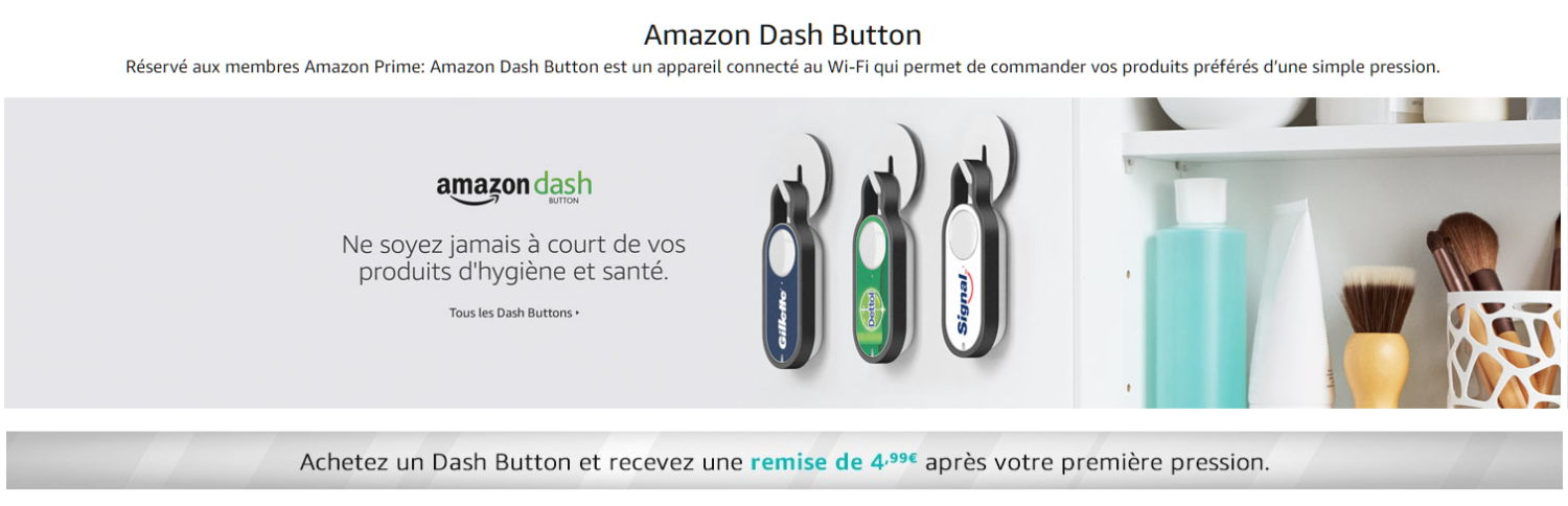 Amazon-DashButton France