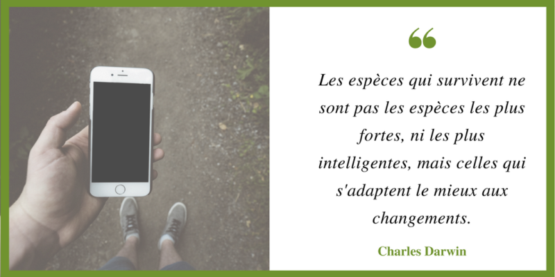 citation Darwin ©LaPharmacieDigitale